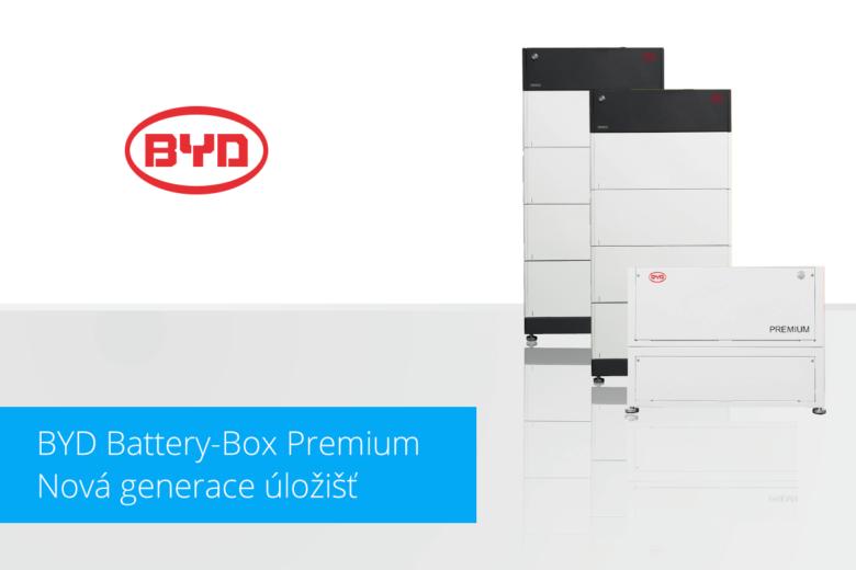 Komptatibilita úložišť BYD Battery-Box Premium